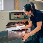 paper guillotine machine knife